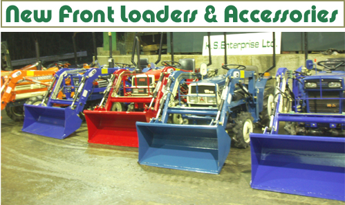 New Front Loaders & Accessories
